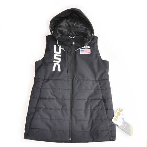 THE NORTH FACE/ ノースフェイス USA  Full Zip Hood Vest Lady's