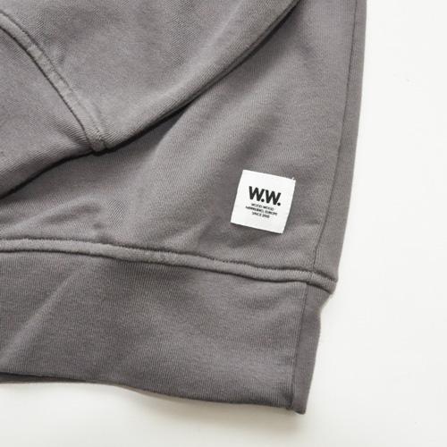 WOOD WOOD / ウッドウッド/クルースウェットシャツ - 3