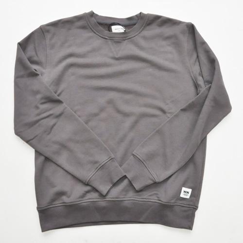 WOOD WOOD / ウッドウッド/クルースウェットシャツ