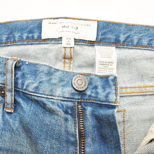 MARC BY MARC JACOBS/マークバイマークジェイコブス/low rise skinny - 2