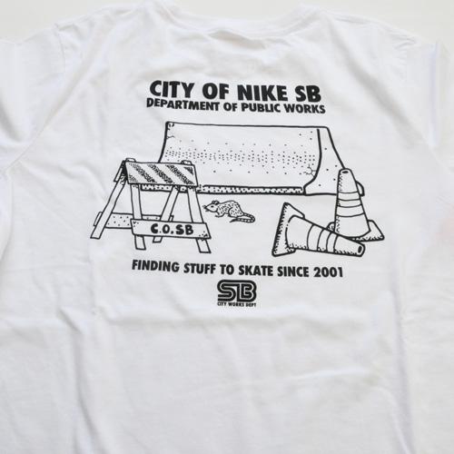 NIKE SB / ナイキ エスビー CITY WORKS Tシャツ ホワイト - 2