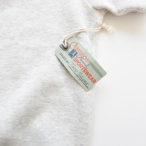 TODD SNYDER×CHAMPION ビンテージ半袖スウェット ライトグレー - 4