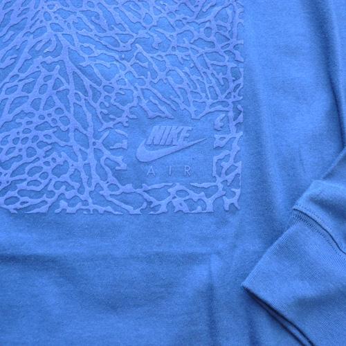 NIKE / ナイキ JORDAN セメント柄 L/S Tシャツ BIG SIZE - 4