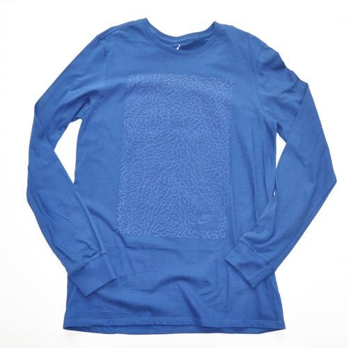 NIKE / ナイキ JORDAN セメント柄 L/S Tシャツ BIG SIZE BIG SIZE