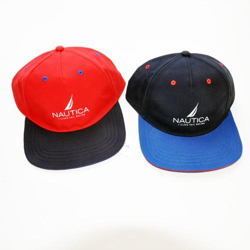 NAUTICA / ノーティカ アイコンロゴ SNAPBACK CAP ネイビー/レッド - 1