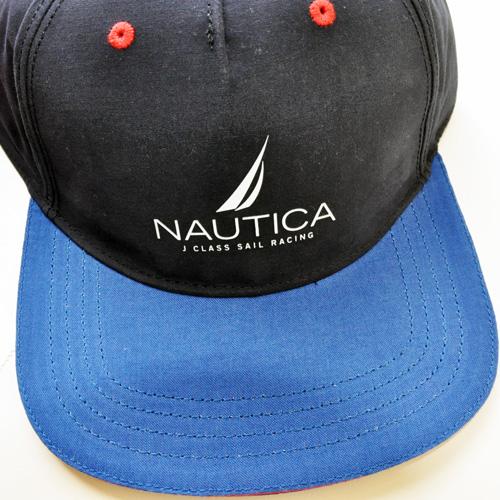 NAUTICA / ノーティカ アイコンロゴ SNAPBACK CAP ネイビー/レッド - 3