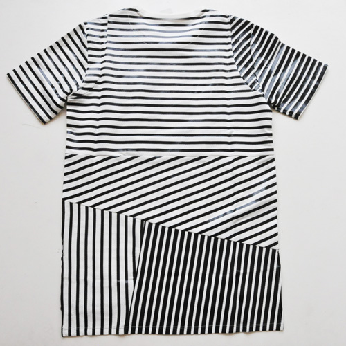 PRPS GOODS&CO. / ピーアールピーエス グッズ&コー STRIPED POCKET TEE - 1