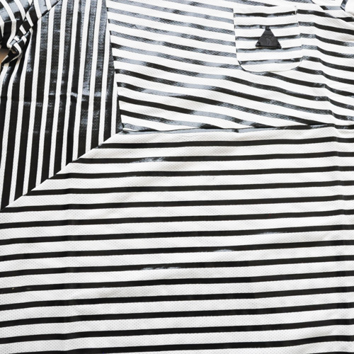 PRPS GOODS&CO. / ピーアールピーエス グッズ&コー STRIPED POCKET TEE-5