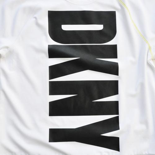DKNY / ダナキャラン フロントプリント半袖スウェット BIG SIZE-3