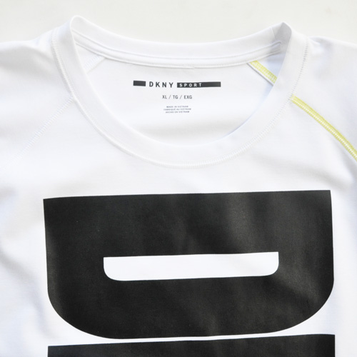 DKNY / ダナキャラン フロントプリント半袖スウェット BIG SIZE-4