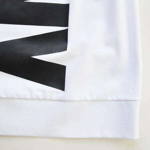 DKNY / ダナキャラン フロントプリント半袖スウェット BIG SIZE-6