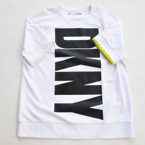 DKNY / ダナキャラン フロントプリント半袖スウェット BIG SIZE