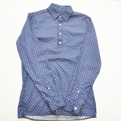 J.CREW / ジェイクルー POPOVER IN WHEEL PRINT コットンシャツ