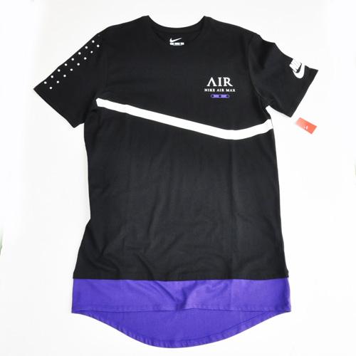 NIKE AIR MAX / ナイキ エアーマックス  ロングライン半袖Tシャツ US限定モデル