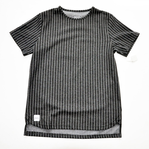 NATIVE YOUTH/ネイティブユース ストライプニット半袖シャツ