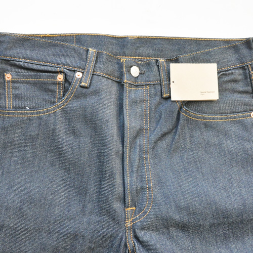 LEVI'S / リーバイス 501 STRAIGHT LEG BUTTON FLY RAW UNWASHED DENIM - 2
