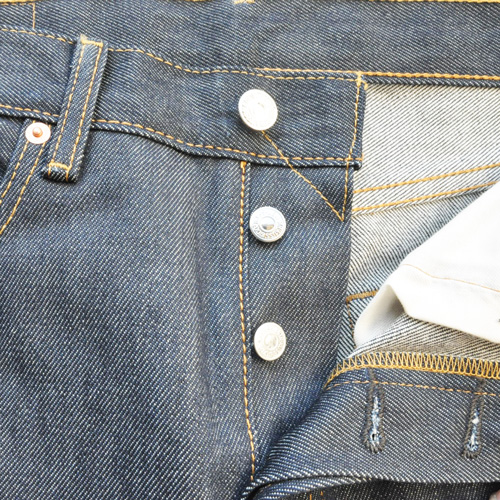 LEVI'S / リーバイス 501 STRAIGHT LEG BUTTON FLY RAW UNWASHED DENIM - 3