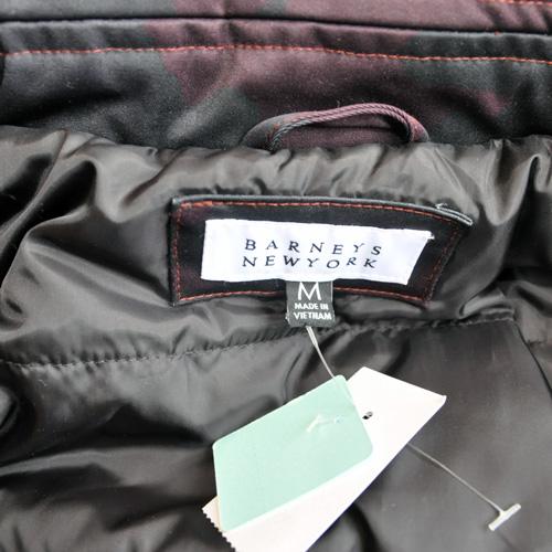 BARNEYS NEWYORK / バーニーズニューヨーク オリジナルカモ中綿入りフォーマルコーチジャケット 海外限定モデル - 5