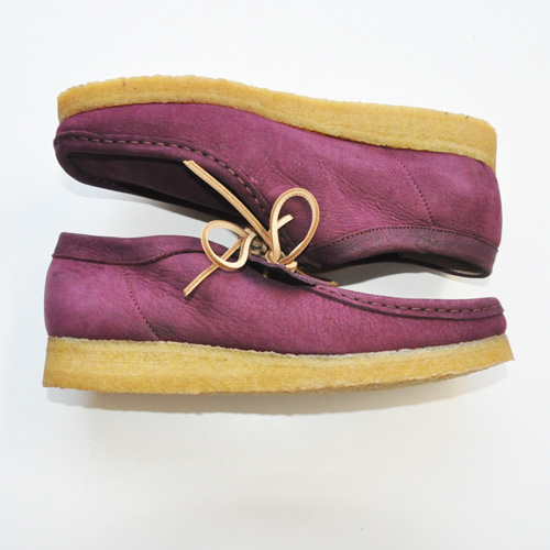 CLARKS ORIGINAL / WALLABEE PURPLE GRAPE NUBUCK US限定 - 1