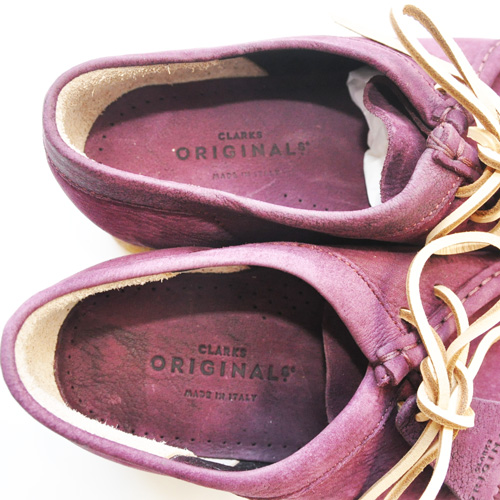 CLARKS ORIGINAL / WALLABEE PURPLE GRAPE NUBUCK US限定 - 3