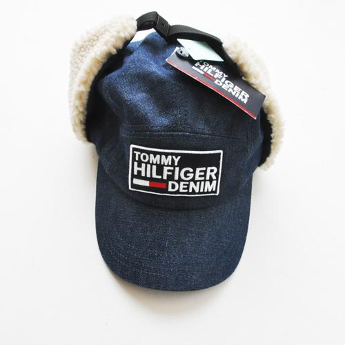 TOMMY HILFIGER DENIM /トミーヒルフィガーデニム フロントロゴフライトキャップ