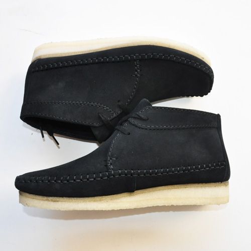 Clarks ORIGINALS/クラークス  WEAVER BOOT  BLACK SUEDE-2
