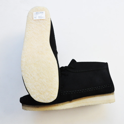 Clarks ORIGINALS/クラークス  WEAVER BOOT  BLACK SUEDE-3