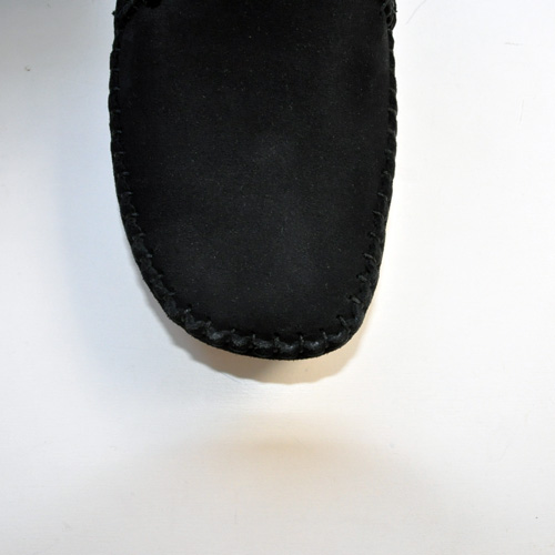Clarks ORIGINALS/クラークス  WEAVER BOOT  BLACK SUEDE-6