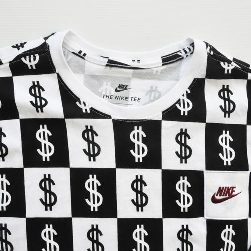 NIKE/ナイキ $総柄モノグラムロングスリーブTシャツ BIG SIZE US企画 - 2