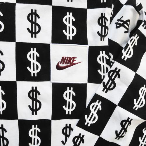 NIKE/ナイキ $総柄モノグラムロングスリーブTシャツ BIG SIZE US企画 - 3