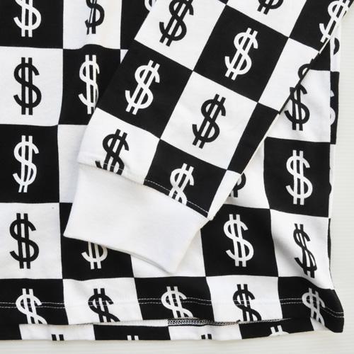 NIKE/ナイキ $総柄モノグラムロングスリーブTシャツ BIG SIZE US企画 - 4