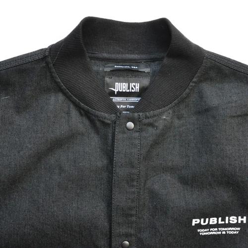 PUBLISH/パブリッシュ デニムMA-1ミリタリージャケット - 2