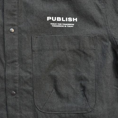 PUBLISH/パブリッシュ デニムMA-1ミリタリージャケット - 3