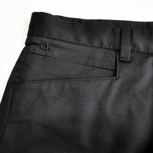 Calvin Klein / CK カルバンクライン BODY FIT ストレートパンツ ブラック-4
