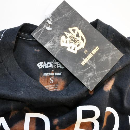 BAD BOY×INVISIBLE BULLY / フロントロゴ半袖Tシャツ - 2