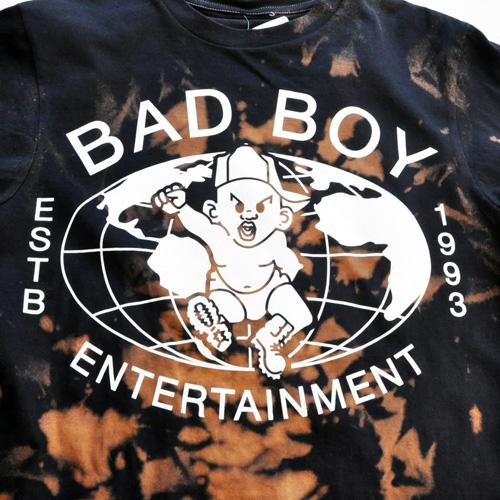 BAD BOY×INVISIBLE BULLY / フロントロゴ半袖Tシャツ - 3