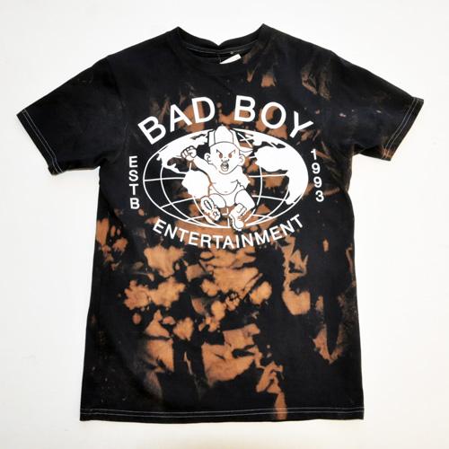 BAD BOY×INVISIBLE BULLY / フロントロゴ半袖Tシャツ