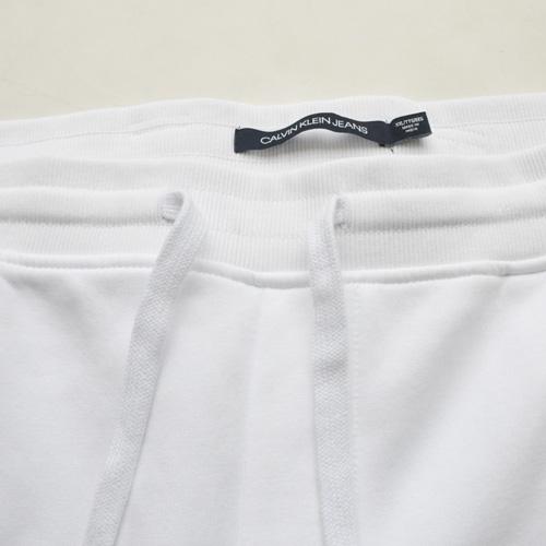 Calvin Klein /CK/ カルバンクライン ジーンズ BOXロゴ裏起毛スウェットセットアップ ホワイト BIG SIZE - 9