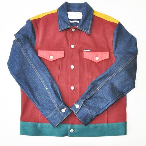 Calvin Klein Jeans /カルバンクラインジーンズ /モダンクラシックデニムトラッカージャケット セットアップ -2