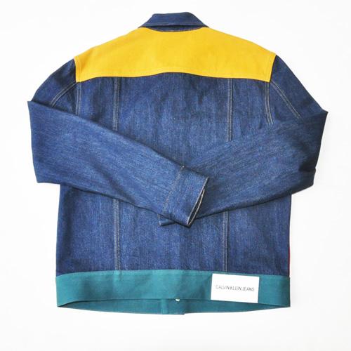 Calvin Klein Jeans /カルバンクラインジーンズ /モダンクラシックデニムトラッカージャケット セットアップ -3