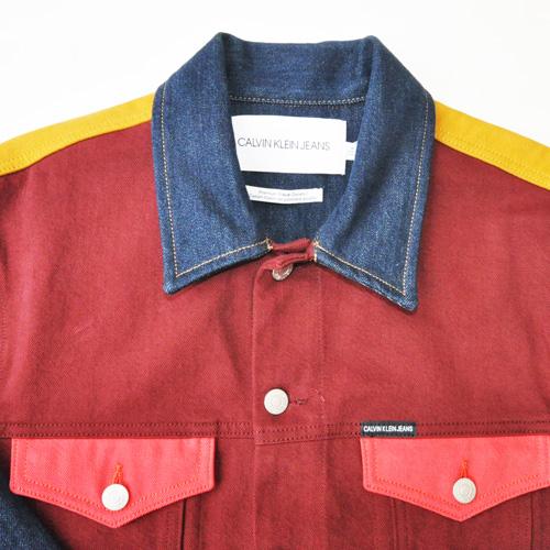 Calvin Klein Jeans /カルバンクラインジーンズ /モダンクラシックデニムトラッカージャケット セットアップ -4