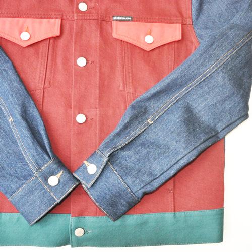 Calvin Klein Jeans /カルバンクラインジーンズ /モダンクラシックデニムトラッカージャケット セットアップ -5