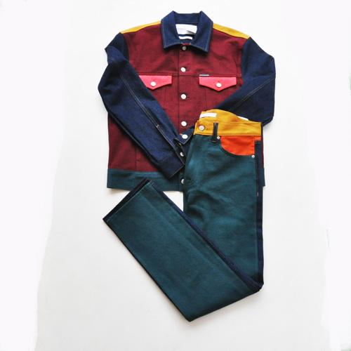 Calvin Klein Jeans /カルバンクラインジーンズ /モダンクラシックデニムトラッカージャケット セットアップ