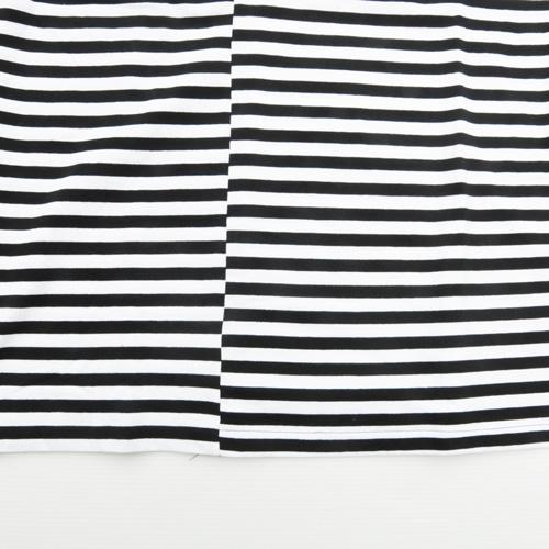 STAPLE/ステイプル ボーダーワンポイントロゴ半袖Tシャツ BIG SIZE-5