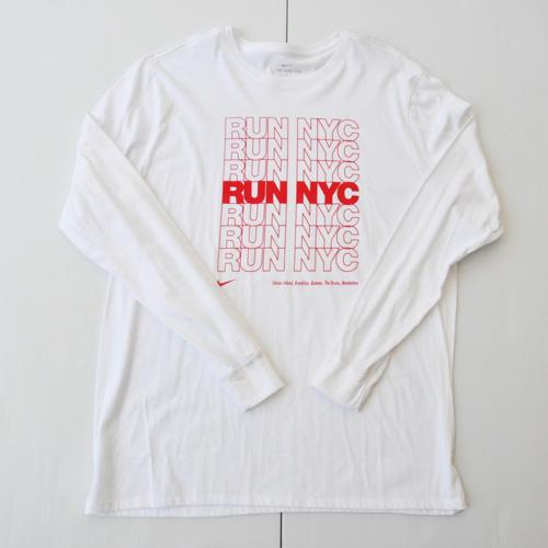 NIKE/ナイキ RUN NYC ロングスリーブTシャツ BIG SIZE NY限定モデル