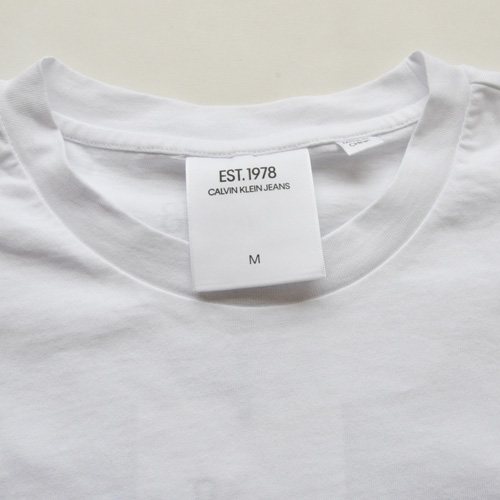 CALVIN KLEIN JEANS/カルバンクラインジーンズ EST 1978 フロントプリントTシャツ-4