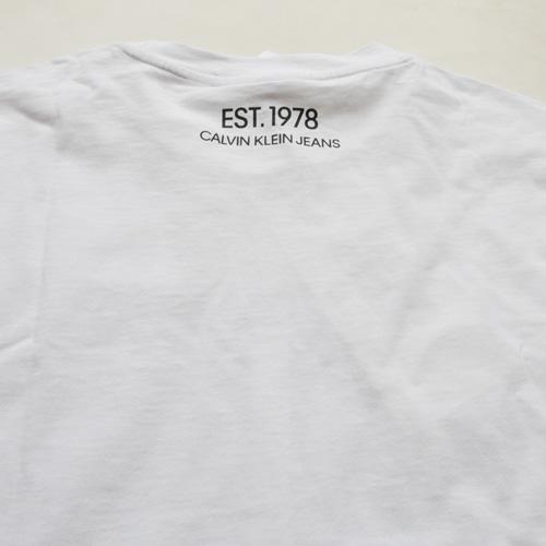 CALVIN KLEIN JEANS/カルバンクラインジーンズ EST 1978 フロントプリントTシャツ-5