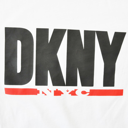 DKNY / ダナキャラン ビッグロゴプリント半袖Tシャツ-3