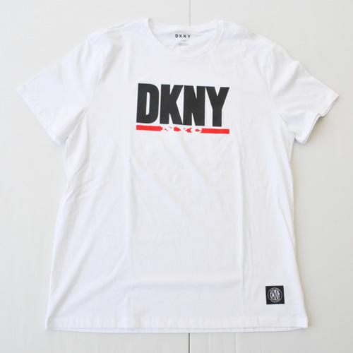 DKNY / ダナキャラン ビッグロゴプリント半袖Tシャツ