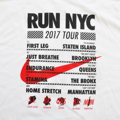 NIKE/ナイキ RUN NEW YORK CITY 2017 TOUR TEE BIG SIZE NY限定モデル-4
